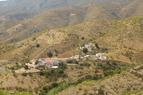 Village from Jane's road