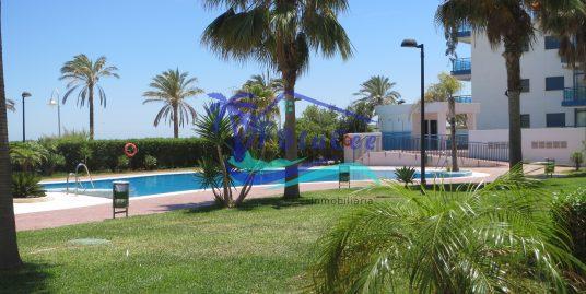 Penthouse apartment, front line beach in Castell de Ferro